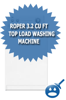 Roper 3.2 Cu Ft Top Load Washing Machine
