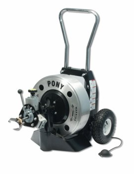 Trojan Pony Power Drain Cleaning Machine
