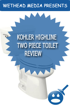 Kohler Highline Two Piece Toilet Review
