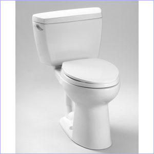 Toto Drake Eco High Efficiency Two Piece Toilet