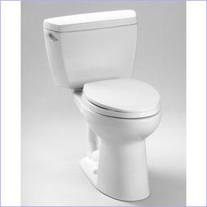Toto Drake Eco High Efficiency Two Piece Toilet