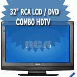 32&quot; RCA LCD / DVD Combo HDTV