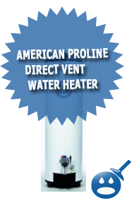 American ProLine Direct Vent Water Heater