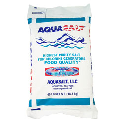 Aquasalt Fine Solar Pool Salt 40 lbs Bag