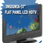 Insignia-37&quot; Flat Panel LCD HDTV