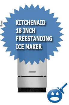 KitchenAid-18-inch-Freestanding Ice Maker