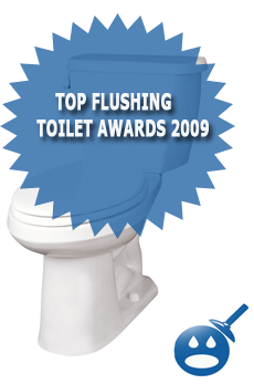Top Flushing Toilet Awards 2009