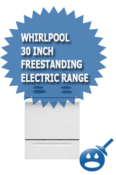 Whirlpool-30-Inch-Freestanding Electric Range