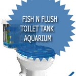 Fish N Flush Toilet Tank Aquarium