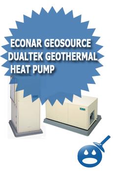 ECONAR GeoSource DualTek Geothermal Heat Pump