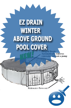 Ez drain winter above ground pool cover wet head media - Above ground swimming pool covers reviews ...