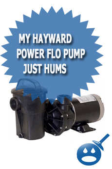 My Hayward Power Flo Pump Just Hums
