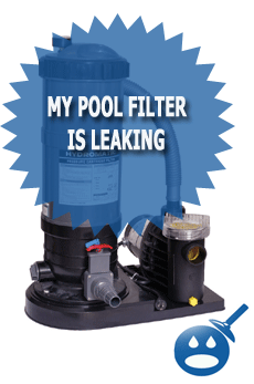 My Pool Filter Is Leaking