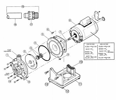 Polaris Booster Pump Motor Overhaul Rebuild Guide on electric motor wiring diagrams