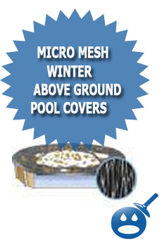 Micro Mesh Winter Above Ground Pool Covers