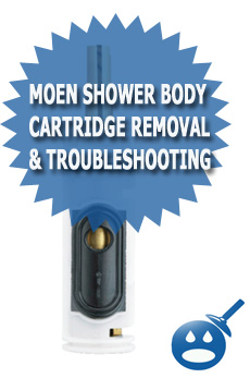 Moen Shower Body Cartridge Troubleshooting