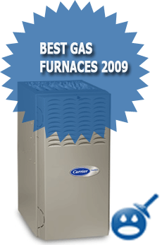 Best Gas Fired Furnaces 2009