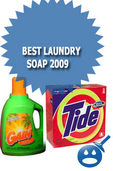 Best Laundry Soap 2009