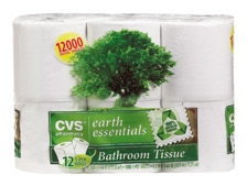 CVS Earth Essentials Bathroom Tissue
