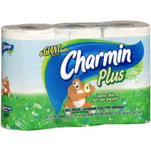 Charmin Plus Lotion Toilet Paper