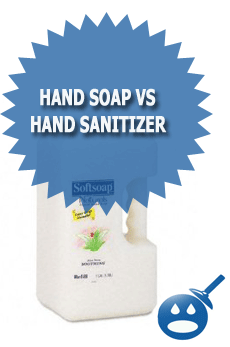 Hand Soap Vs Hand Sanitizer