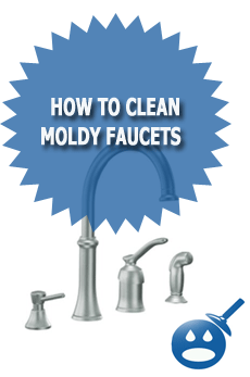 How To Clean Moldy Faucets