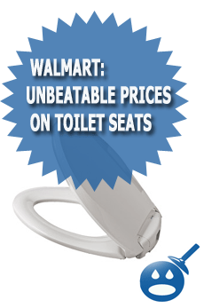 WalMart: Unbeatable Prices On Toilet Seats