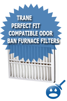Trane Perfect Fit Compatible Odor Ban Furnace Filters