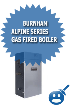 Burnham Alpine Series Gas Fired Boiler