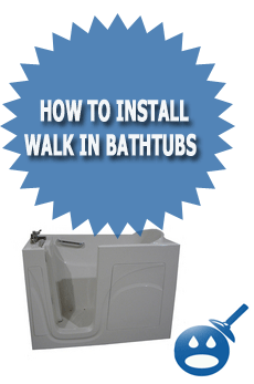 How To Install Walk In Bathtubs