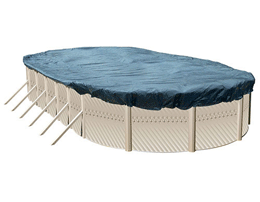 Oval Winter Pool Cover
