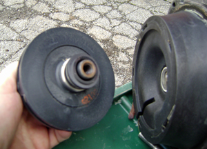 Hayward Super Pump Impeller Removed