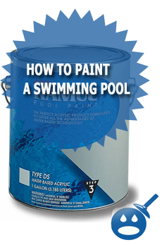 How To Paint A Swimming Pool