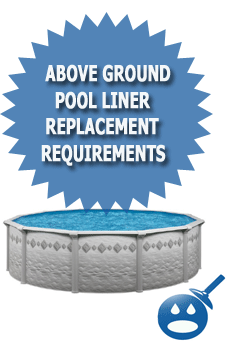Above Ground Pool Liner Replacement