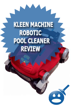 Kleen Machine Robotic Pool Cleaner