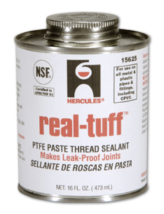 Hercules Real Tuff PTFE Paste Thread Sealant