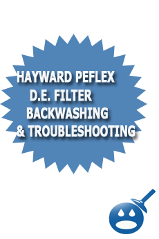 Hayward Perflex D.E. Filter Backwashing & Troubleshooting