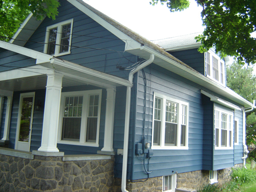 Houses with Aluminum Siding
