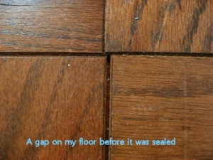 Hardwood floor repair wet head media for Hardwood floors expansion gap