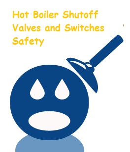 Boiler shutoff valves and switch checks