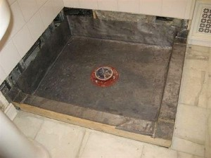 how to build a Cement Shower Pan