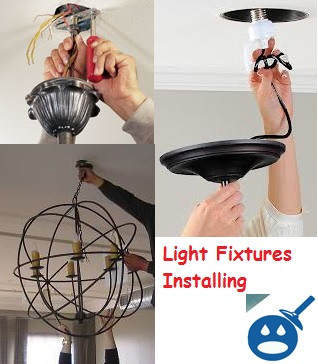 Install a light fixture without drilling a hole in the ceiling wet install pendant lights aloadofball Images